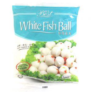Best White Fish Ball