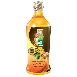 L&G Peanut Aroma Nutritious Oil with Extra Virgin Olive Oil – 900mL