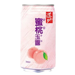 TT Peach Juice Drink (Nata De Coco)