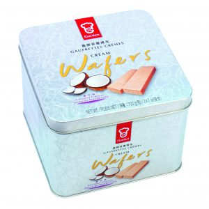 Garden Coconut Tin Wafer