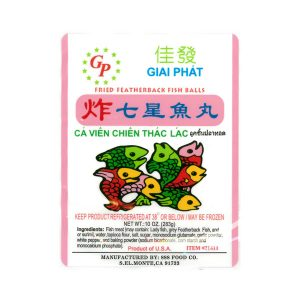 Giai Phat Fried Featherback Fish Ball