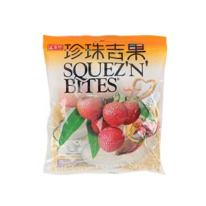 SHJ Squez'n Bites Lychee Jelly (Bag)