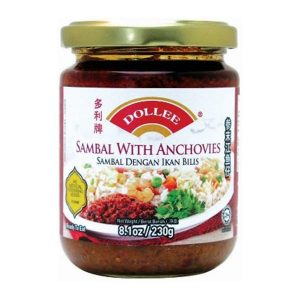 Dollee Sambal with Anchovies